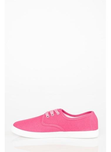 DeFacto Bağcıklı Basic Sneaker Pembe